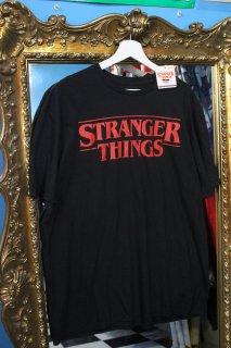 STRANGER THINGS T-SHIRT(ストレンジャー・シングス ロゴ Tシャツ)