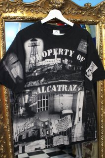 ALCATRAZ LSLAND PHOTO T-SHIRT(アルカトラズ島刑務所 フォトTシャツ)