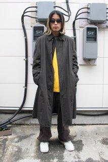 LONDON FOG  CHECK CONVERTIBLE COLLAR COAT(ロンドン・フォグ チェック柄 ステンカラー コート)