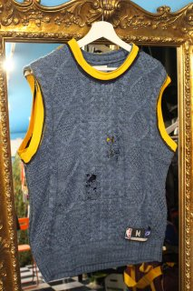 REMAKE BASKETBALL NO-SLEEVE SWEATER(NUGGETS)