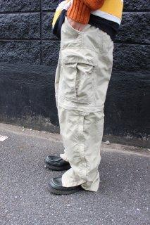 2-WAY NYLON CARGO PANTS BEIGE(2ウェイ ナイロン カーゴ パンツ)