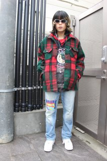 LL BEAN TWEED L/S CHECK SHIRT(エルエル・ビーン ツイード 長袖チェックシャツ)