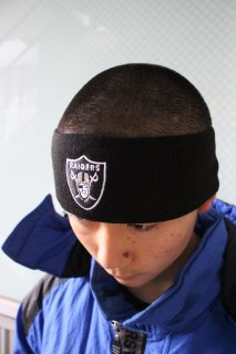 NFL LOS ANGELS RAIDERS HAIR BAND(レイダース ヘア・バンド)