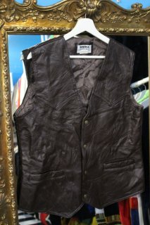 PATCH WORK LEATHER VEST(パッチワーク・レザー ジレベスト)