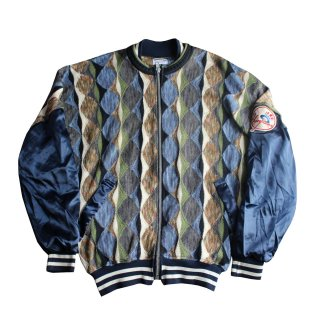 REMAKE 3D KNIT STADIUM JACKET(YANKEES)