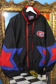NHL MONTREAL CANADIENS  NYLON TRACK JACKET(モントリオール・カナディアンズ トラック ジャケット)