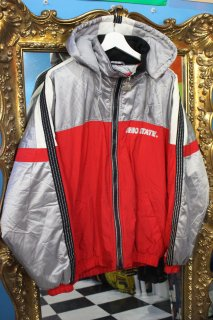 NCAA OHIO STATE BUCKEYES DOWN HOODIE JACKET(オハイオ州立大学バックアイズフットボール ダウン  フーディー ジャケット)