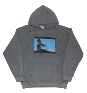 PRINT HOODIE GY(INDEPENDENCE DAY)