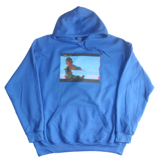 PRINT HOODIE BL(INDEPENDENCE DAY)