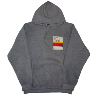 PRINT HOODIE GY(HOLD EVERYTHING)