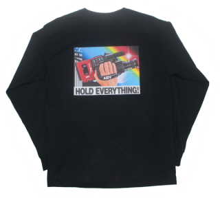 PRINT L/S T-SHIRT(HOLD EVERYTHING)