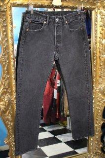 LEVI'S BLACK DENIM PANTS(リーバイス ブラック デニム パンツ)