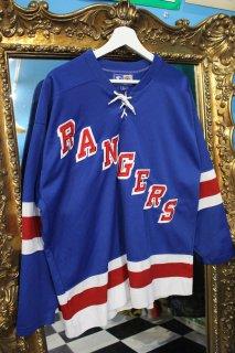 NHL NEW YORK RANGERS GAME SHIRT(ニューヨーク・レンジャース ゲームシャツ)