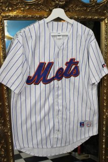 MLB NEW YORK METS B/B SHIRT(ニューヨーク・メッツ ベースボール シャツ)