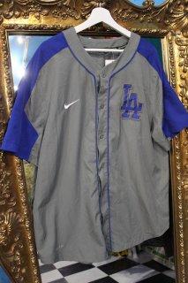 MLB LOS ANGELES DOGERS B/B SHIRT(ロサンゼルス・ドジャース ベースボール シャツ)