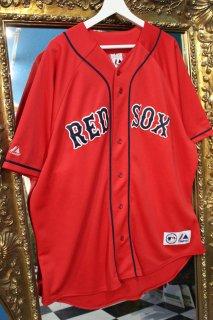 MLB BOSTON RED SOX B/B SHIRT(ボストン・レッドソックス ベースボール シャツ)