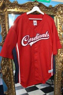 MLB ST.LOUIS CARDINALS B/B SHIRT(セントルイス・カージナルス ベースボール シャツ)