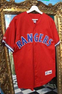MLB TEXAS RANGERS B/B SHIRT(テキサス・レンジャーズ ベースボール シャツ)