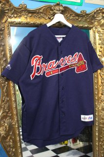 MLB ATLANTA BRAVES B/B SHIRT(アトランタ・ブレーブス ベースボール シャツ)