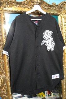 MLB CHICAGO WHITE SOX B/B SHIRT(シカゴ・ホワイトソックス ベースボール シャツ)