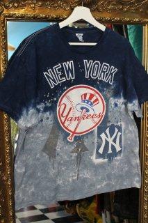 MLB NEW YORK YANKEES TIE-DYE T-SHIRT(ヤンキース タイダイ柄 Tシャツ)
