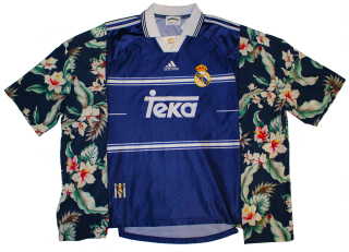 REMAKE SOCCER S/S SHIRT(REAL MADRID)