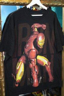 IRON MAN LAME PRINT T-SHIRT(アイアンマン ラメプリント Tシャツ)