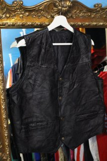 PATCH WORK LEATHER VEST(パッチワーク・レザー ジレ)