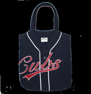 REMAKE BASEBALL SHIRT TOTE BAG(CUBS)