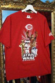 STAR WARS×CINCINNATI REDS T-SHIRT(スター・ウォーズ×レッズ Tシャツ)
