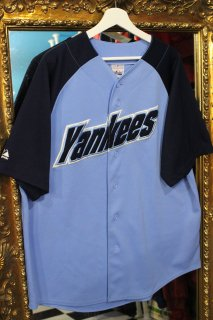 MLB NEW YORK YANKEES BASEBALL SHIRT(ニューヨーク・ヤンキース ベースボール シャツ)