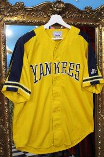 MLB NEW YORK YANKEES BASEBALL S/S SHIRT(ニューヨーク・ヤンキース ベースボール シャツ)