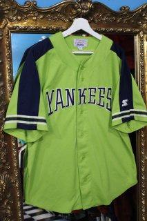 NEW YORK YANKEES BASEBALL S/S SHIRT(ニューヨーク・ヤンキース ベースボール シャツ)