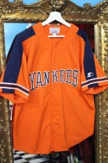 MLB YANKEES BASEBALL S/S SHIRT(ニューヨーク・ヤンキース ベースボール シャツ)
