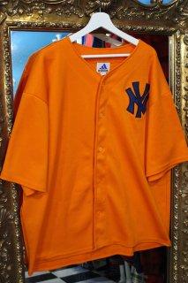 ADIDAS YANKEES BASEBALL SHIRT(ニューヨーク・ヤンキース ベースボール シャツ)