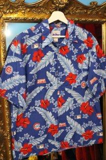 MLB CHICAGO CUBS ALOHA SHIRT(シカゴ・カブス アロハ シャツ)