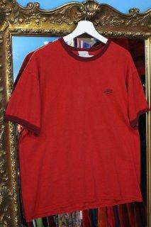 NIKE LOGO TRIM T-SHIRT RED(ナイキ トリム Tシャツ)