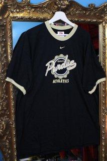 PURDUE UNIVERSITY TRIM T-SHIRT(パデュー大学 バスケットボール・チーム ロゴ Tシャツ)