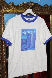 KIEHL'S BLUE HERBAL SPOT TREATMENT TRIM T-SHIRT(キールズ ブルー ハーバル スポット トリートメント トリム Tシャツ)