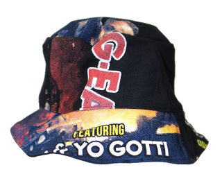 REMAKE RAP TEE BUCKET HAT(LOGIC)