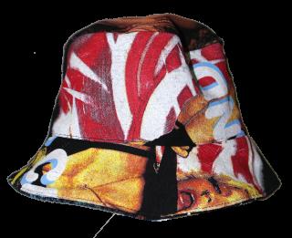 REMAKE RAP TEE BUCKET HAT(JANET&MADONNA)
