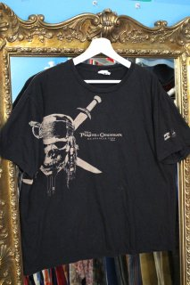 PIRATES OF THE CARIBBEAN ON STRANGER TIDES T-SHIRT(パイレーツ・オブ・カリビアン Tシャツ)