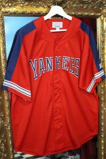 MLB YANKEES BASEBALL SHIRT(ニューヨーク・ヤンキース ベースボール シャツ)