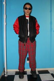 GINGAM CHECK COTTON PANTS(ギンガム・チェック コットン パンツ)