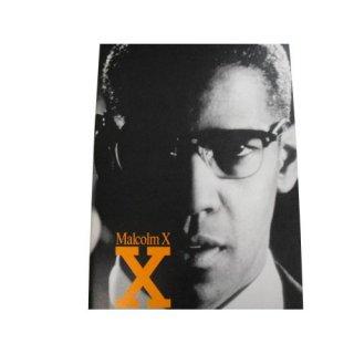 MALCOLM X (マルコムX 映画パンフレット)
