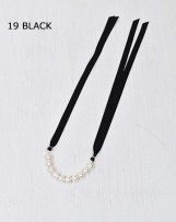 AL711009 COTTON PEARL NECKLACE