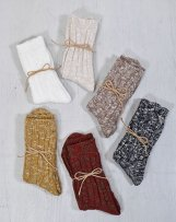 icL013 Cotton Slab Socks<img class='new_mark_img2' src='https://img.shop-pro.jp/img/new/icons57.gif' style='border:none;display:inline;margin:0px;padding:0px;width:auto;' />