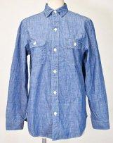 dd702117_4 シャンブレーデットストックシャツ 01,02