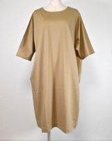 AH901-0408_a COTTON DOLMAN one-piece dress