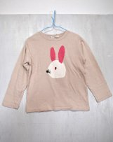 n203-1513_43 うさぎTシャツ L,XL